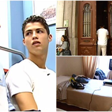 Entrevista mostra Cristiano Ronaldo, com apenas 16 anos, a dizer o quão cara achava a PlayStation 2
