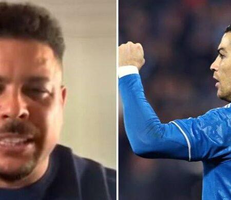 Ronaldo Fenómeno responde às pessoas que dizem que ele é o verdadeiro Ronaldo, e não Cristiano