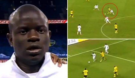 Os destaques de N'Golo Kanté no jogo frente à Suécia vão deixar os adeptos do Chelsea em êxtase