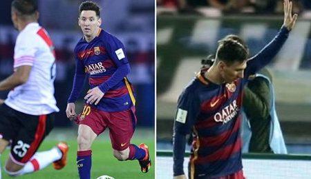 A única vez que Lionel Messi pediu desculpa aos adeptos por ter marcado um golo