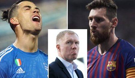 Paul Scholes acaba com o debate Lionel Messi vs. Cristiano Ronaldo com um veredicto brilhante