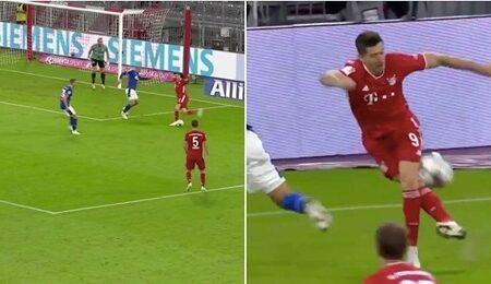 Robert Lewandowski faz uma assistência de letra incrível na vitória do Bayern
