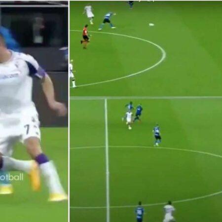 Vê só o que Ribéry fez no jogo entre o Inter de Milão e a Fiorentina