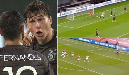 Vídeo dos últimos 5 golos concedidos pelo Manchester United sugerem que talvez Victor Lindelof seja o problema