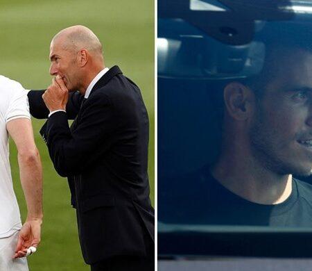 Foi isto que Bale disse a Zidane na sua última visita ao centro de treinos do Real Madrid