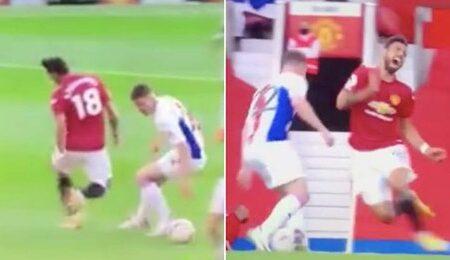 Adeptos querem que Bruno Fernandes seja suspenso depois de um mergulho surreal no jogo frente ao Crystal Palace