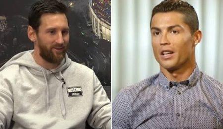 Lionel Messi nomeou os 5 melhores jogadores do mundo….