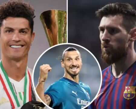 Zlatan Ibrahimovic dá a resposta perfeita ao debate Cristiano Ronaldo vs. Lionel Messi