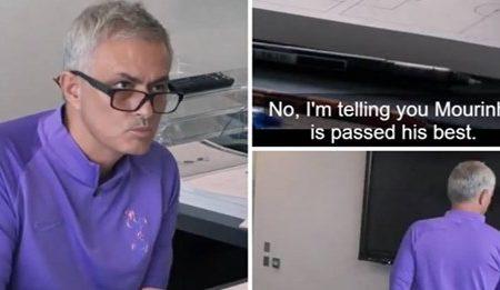 José Mourinho a reagir a críticas é dos momentos mais engraçados da história do Tottenham