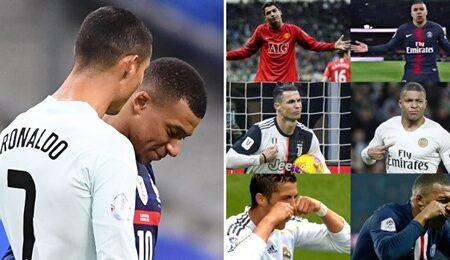 Adepto descobre algo surpreendente sobre que as celebrações de Kylian Mbappé foram inspiradas em Cristiano Ronaldo