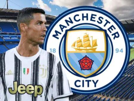 Cristiano Ronaldo fortemente associado ao Manchester City