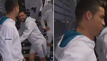"""Cristiano Ronaldo foi apanhado a chamar Lionel Messi de """"mau jogador"""" no túnel"""