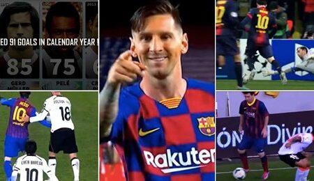 """Vídeo mostra as """"10 coisas impossíveis que só Lionel Messi é capaz de fazer"""""""