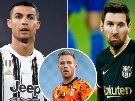 Jogador revela a grande diferença entre Cristiano Ronaldo e Lionel Messi