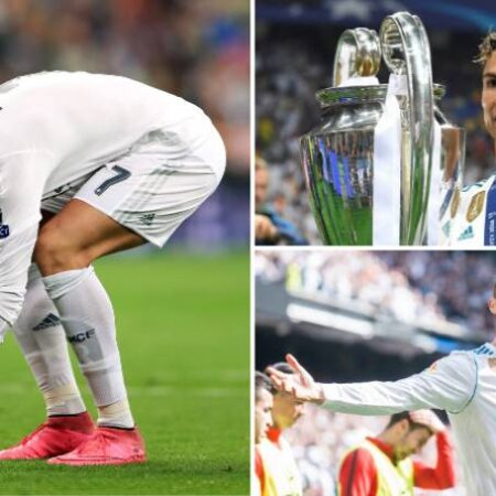 As estatísticas de Cristiano Ronaldo durante o seu período pelo Real Madrid são de outro mundo