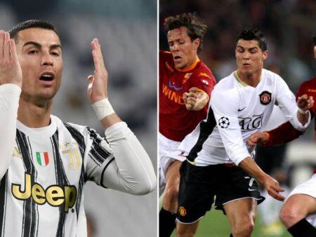 Cristiano Ronaldo nunca vai trocar camisolas com um jogador da AS Roma, descobre o motivo