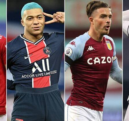 Estes são os 4 melhores jogadores em cada posição a atuar na Europa em 2020. Quatro portugueses estão na lista.