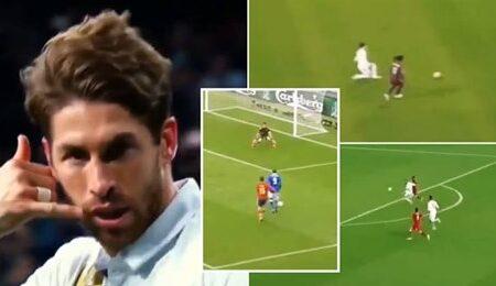 Compilação de Sergio Ramos torna-se viral depois de adeptos do Liverpool terem afirmado que Virgil van Dijk é melhor do que ele