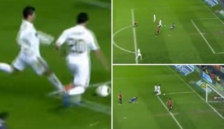 O momento em que Cristiano Ronaldo impediu Higuain de marcar de baliza aberta por ganância