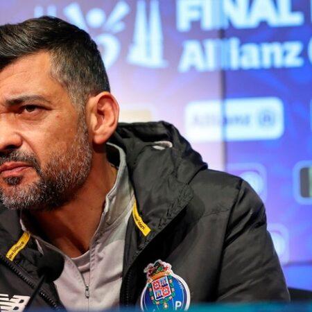 """Sérgio Conceição """"oferecido"""" ao Inter"""