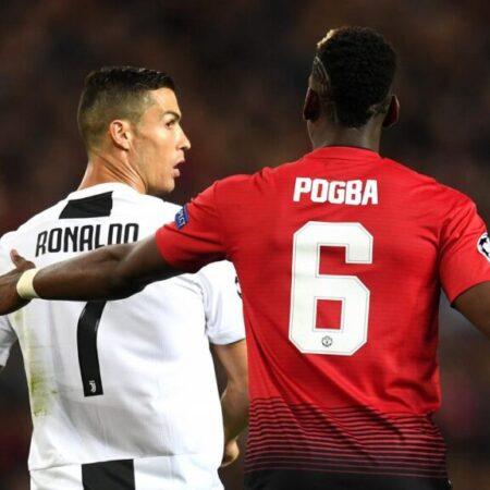 Cristiano Ronaldo pode rumar ao Manchester United em troca por Pogba