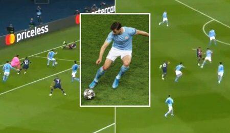 Compilação de Rúben Dias no jogo frente ao Paris Saint-Germain mostra o porquê de ele ser o melhor defesa da atualidade