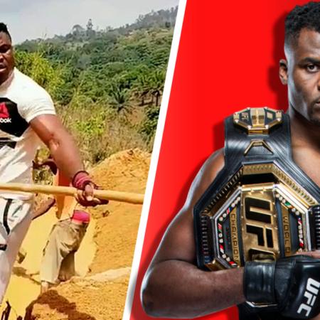 A incrível história de Francis Ngannou: de indigente a campeão da UFC